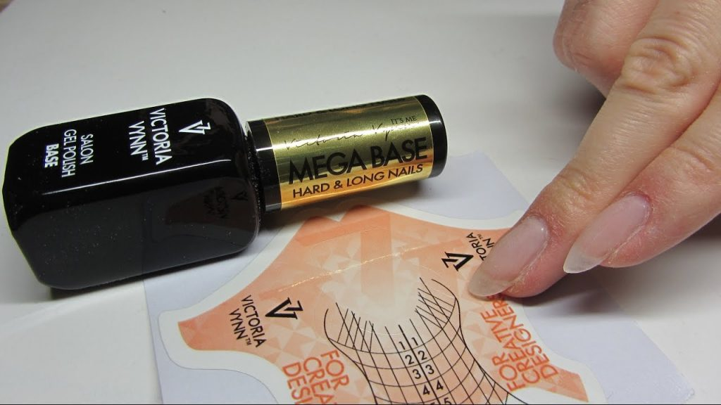 sjabloon victoria vynn voor gelnagels verlenging